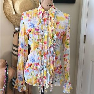 Belissimo New York floral blouse